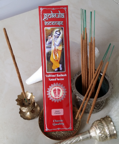 Green Champa Incense Sticks - 20 grams